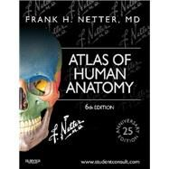Atlas of Human Anatomy: 25th Anniversary Edition by Netter, Frank H., M.D., 9781455704187