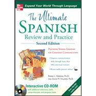 Ultimate Spanish Review and Practice with CD-ROM, Second Edition by Gordon, Ronni; Stillman, David, 9780071744188