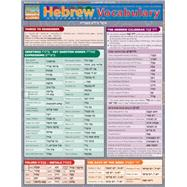 Hebrew Vocabulary, Reference Study Guide by Levi, Joseph, 9781423204190