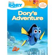 Dory's Adventure Poster-a-page by Disney Enterprises, Inc., 9781618934192