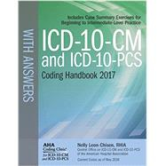 ICD-10-CM and ICD-10-PCS 2017 Coding Handbook With Answers by Leon-Chisen, Nelly, 9781556484193