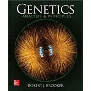 Genetics: Analysis and Principles with Connect Plus Access Card by Brooker, Robert, 9781259224195