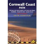 Cornwall Coast Path, 3rd; British Walking Guide: planning, places to stay, places to eat; includes 100 large-scale walking maps by Edith Schofield & Keith Carter, 9781905864195