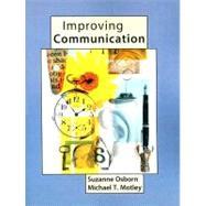 Improving Communication by Osborn, Suzanne; Motley, Michael T, 9780205564200