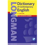 Longman Dictionary of Contemporary English (Paper and Online Access) by Pearson Education, 9781447954200