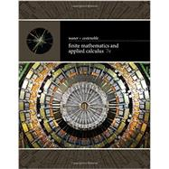 Finite Mathematics and Applied Calculus by Waner, Stefan; Costenoble, Steven, 9781337274203