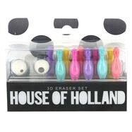 House of Holland 3D Eraser Set by Unknown, 9781454924210