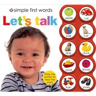 Simple First Words Let's Talk by Priddy, Roger, 9780312514211