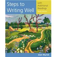 Steps to Writing Well with Additional Readings by Wyrick, Jean, 9781305394216