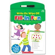 Write-On/Wipe-Off Fill-in Fun by Liza, Charlesworth, 9780545804219