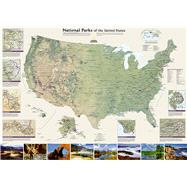United States National Parks by National Geographic Maps, 9781597754224