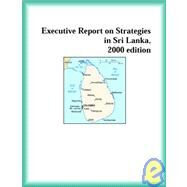 Executive Report on Strategies in Mozambique, 2000 by The Sri Lanka Research Group, 9780741824226