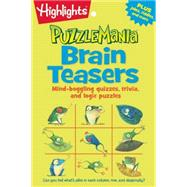 Puzzlemania Brain Teasers by Highlights for Children, 9781629794228