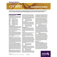 CPT 2017 Express Reference Coding Card General/Internal Medicine by American Medical Association, 9781622024230