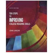 Ten Steps to Improving College Reading Skills by John  Langan, 9781591944232