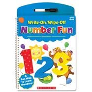 Write-On/Wipe-Off Number Fun by Kama, Einhorn, 9780545804233