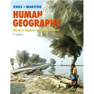 Human Geography Places and Regions in Global Context Plus MasteringGeography with eText -- Access Card Package by Knox, Paul L.; Marston, Sallie A., 9780321984234