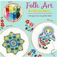 Folk Art Embroidery by Envoldsen-Harris, Carina, 9781684124237