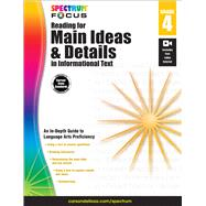 Reading for Main Ideas and Details in Informational Text, Grade 4 by Carson-Dellosa Publishing LLC, 9781483824239