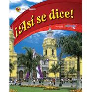 Asi se dice! Level 2, Student Edition by Schmitt, Conrad, 9780076604241
