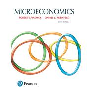 Microeconomics by Pindyck, Robert; Rubinfeld, Daniel, 9780134184241