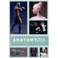 Anatomy for 3d Artists by 3dtotal Publishing, 9781909414242