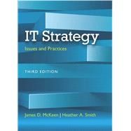 IT Strategy Issues and Practices by McKeen, James D.; Smith, Heather A., 9780133544244