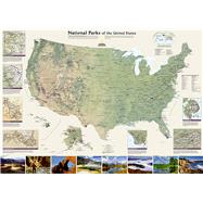 United States National Parks by National Geographic Maps, 9781597754248