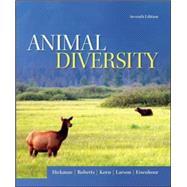 Animal Diversity by Hickman, Jr., Cleveland; Roberts, Larry; Keen, Susan; Larson, Allan; Eisenhour, David, 9780073524252