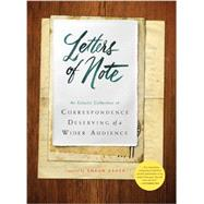 Letters of Note: An Eclectic Collection of Correspondence Deserving of a Wider Audience by Usher, Shaun, 9781452134253