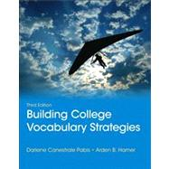 Building College Vocabulary Strategies by Pabis, Darlene C.; Hamer, Arden B., 9780321844255