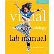 Visual Anatomy & Physiology Lab Manual, Cat Version by Sarikas, Stephen N., 9780321814265