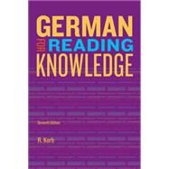 German for Reading Knowledge by Korb, Richard Alan, 9781133604266