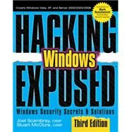 Hacking Exposed Windows: Microsoft Windows Security Secrets and Solutions, Third Edition at Biggerbooks.com