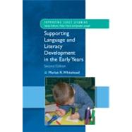 Supporting Language and Literacy Development in the Early Years by Whitehead, Marian, 9780335234271