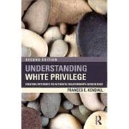 Understanding White Privilege: Creating Pathways to Authentic Relationships Across Race by Kendall; Frances, 9780415874274