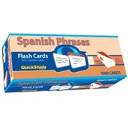 Spanish Phrases Flash Cards by Barcharts, 9781423204275