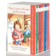 The Little House Collection: A Full-Color Collector's Set of the First Five Books: Little House in the Big Woods, Farmer Boy, Little House on the Prairie, On the Banks of Plum Cre by Wilder, Laura Ingalls, 9780060754280