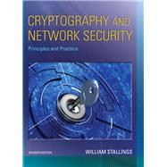 Cryptography and Network Security Principles and Practice by Stallings, William, 9780134444284
