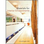 Materials for Interior Environments by Binggeli, Corky, 9780470114285