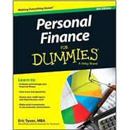 Personal Finance for Dummies by Tyson, Eric, 9781119114291