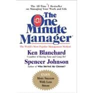 The One Minute Manager by Blanchard, Ken, 9780688014292