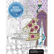 Musical Instruments A Premium Coloring Book by Larsen, Lisa, 9781627004299