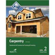 Carpentry Framing & Finish Level 2 Trainee Guide, Paperback by NCCER, 9780133404302