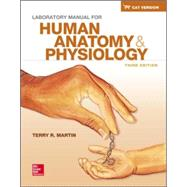 Laboratory Manual for Human Anatomy & Physiology Cat Version by Martin, Terry, 9780078024306