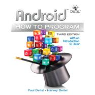 Android How to Program by Deitel, Paul J.; Deitel, Harvey, 9780134444307