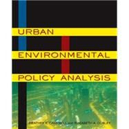 Urban Environmental Policy Analysis by Campbell; Heather E., 9780765624307