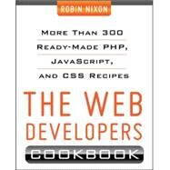 Web Developer's Cookbook by Nixon, Robin, 9780071794312
