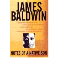 Notes of a Native Son by BALDWIN, JAMES, 9780807064313
