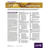 CPT 2017 Express Reference Coding Card Evaluation & Management by American Medical Association, 9781622024315